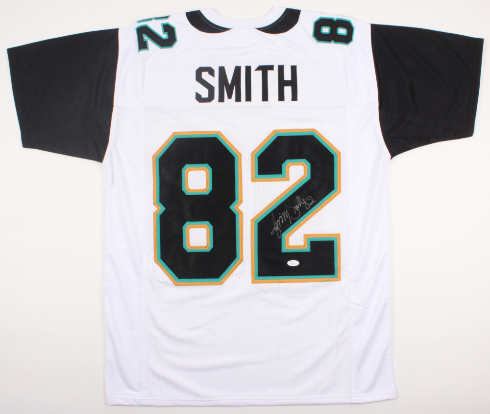 Jimmy Smith Signed Jaguars Jersey (JSA COA) | Pristine Auction