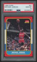 1986-87 Fleer #57 Michael Jordan RC (PSA 10) at PristineAuction.com
