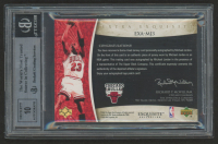 2005-06 Exquisite Collection Extra Exquisite Autographs #MJ3 Michael Jordan #2/5 (BGS 9) at PristineAuction.com
