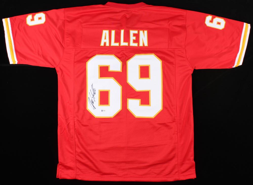 Jared Allen Signed Chiefs Jersey (Beckett COA) | Pristine Auction
