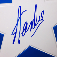 "Stan Lee Signed Full-Size All Metal 24"" Replica Captain America Shield (JSA COA) at PristineAuction.com"
