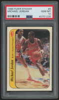 1986-87 Fleer Stickers #8 Michael Jordan RC (PSA 10)