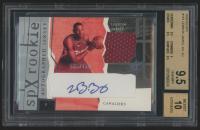 2003-04 SPx #151 LeBron James Jersey Autograph RC #565/750 (BGS 9.5)