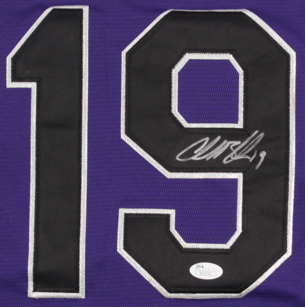 9e4e95cda99 Charlie Blackmon Signed Rockies 25th Anniversary Jersey (JSA COA) at  PristineAuction.com