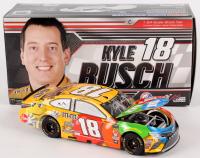 Kyle Busch Signed NASCAR #18 2018 M&M's Camry - 1:24 Premium Action Diecast Car (PA COA)