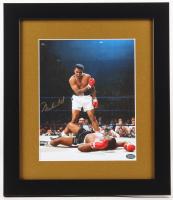 Muhammad Ali Signed 13x15 Custom Framed Photo Display (MM COA)