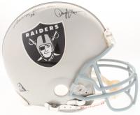 Raiders Full-Size Authentic On-Field Helmet Team-Signed by (5) with Daryle Lamonica, George Blanda, Ken Stabler (Steiner COA)