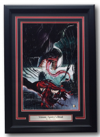 "Greg Horn Signed ""Venom: Spidey's Dead"" 17x25 Custom Framed Print Display (Sports Integrity COA)"