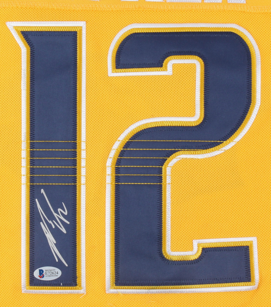 98dc4e359f8 Mike Fisher Signed Predators Adidas Captain Jersey (Beckett COA) at  PristineAuction.com