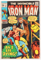 """1971 """"The Invincible Iron Man"""" Issue #37 Marvel Comic Book"""