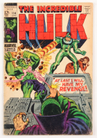 """1969 """"The Incredible Hulk"""" Issue #114 Marvel Comic Book"""