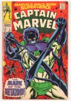 "1968 ""Captain Marvel"" Issue #5 Marvel Comic Book"