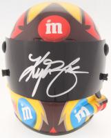Kyle Busch Signed NASCAR #18 M&M Mini-Helmet (PA COA)