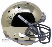 Joe Montana Signed Notre Dame Fighting Irish Chrome Full-Size Helmet (JSA COA)