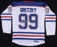 Wayne Gretzky Signed Oilers Captain Jersey (PSA LOA)