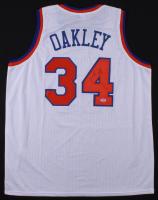 Charles Oakley Signed Knicks Jersey (PSA COA)