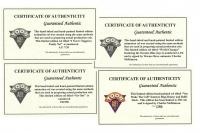 Lot of (4) LE Charles McKimson Signed Warner Bros. MLB Animation Cels (Toon Art, Inc. COA) at PristineAuction.com