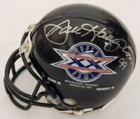 Chicago Bears Signed Mystery Box SB XX Champs Mini Helmet – Series 2 - (Limited to 200) **1985 Bears Team Helmet & Walter Payton 8x10 Redemptions** at PristineAuction.com