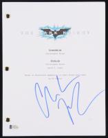 "Christian Bale Signed ""Batman: The Dark Knight"" Full Movie Script (Beckett COA) at PristineAuction.com"