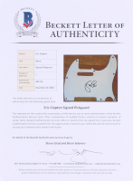 Eric Clapton Signed Full-Size Fender Electric Guitar (Beckett LOA) at PristineAuction.com