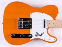 Eddie Van Halen Signed Full-Size Fender Electric Guitar with Inscription (Beckett Hologram) at PristineAuction.com
