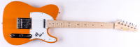 Eddie Van Halen Signed Full-Size Fender Electric Guitar with Inscription (Beckett Hologram) at PristineAuction.com