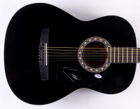 Barry Gibb Signed Full-Size Rogue Acoustic Guitar (PSA COA) at PristineAuction.com