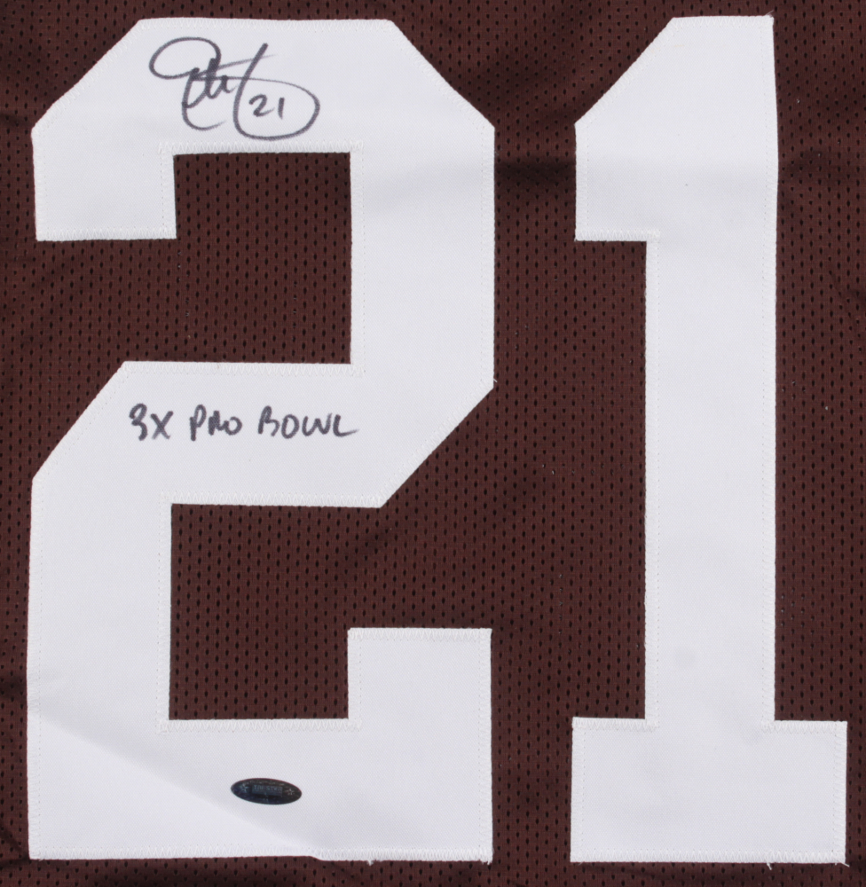 9751f49a5 Eric Metcalf Signed Browns Jersey inscribed