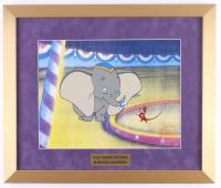 "Walt Disney's ""Dumbo"" 16x19 Custom Framed Animation Serigraph Display"