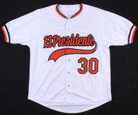 "Dennis Martinez Signed Orioles ""El Presidente"" Jersey (JSA COA) at PristineAuction.com"