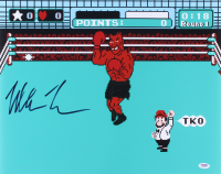 "Mike Tyson Signed ""Mike Tyson's Punch-Out!!"" 16x20 Photo (PSA Hologram)"