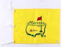 Byron Nelson Signed Masters Tournament Pin Flag (PSA COA) at PristineAuction.com