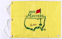 Byron Nelson Signed 2000 Masters Tournament Pin Flag (PSA COA)
