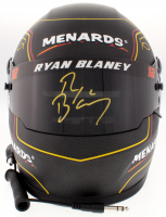 Ryan Blaney Signed NASCAR 2018 Team Penkse / Menards Full-Size Helmet (PA COA) at PristineAuction.com