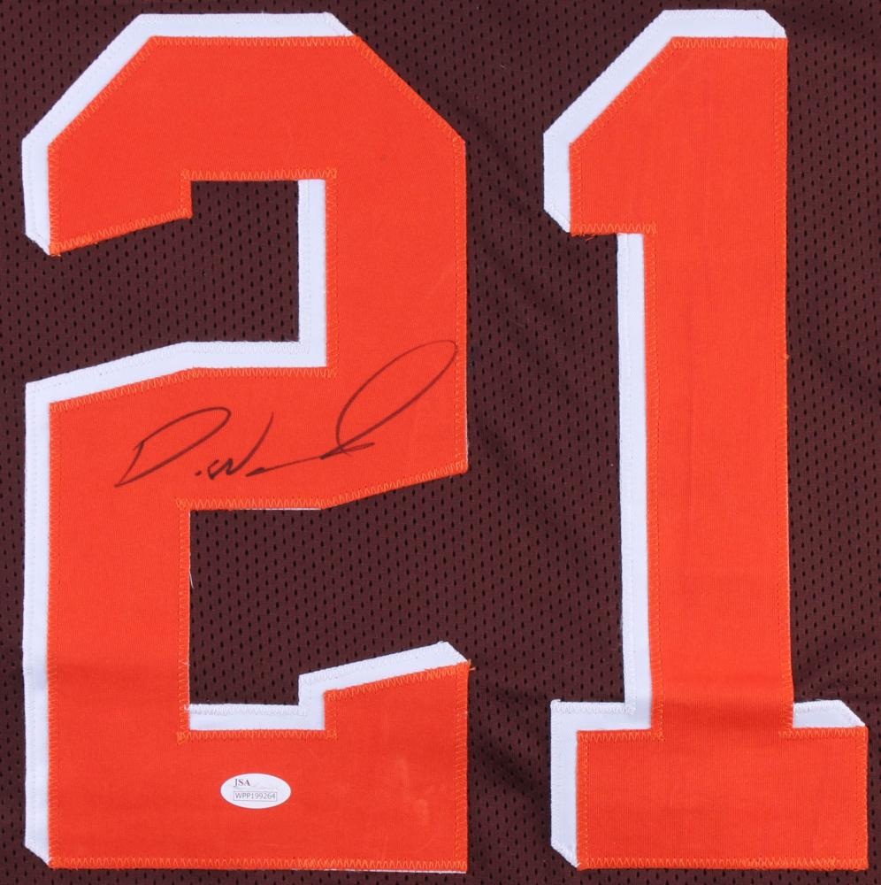 Denzel Ward Signed Browns Jersey (JSA COA) at PristineAuction.com 34c676829