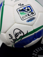 Landon Donovan Signed Adidas MLS Match Soccer Ball (UDA COA) at PristineAuction.com
