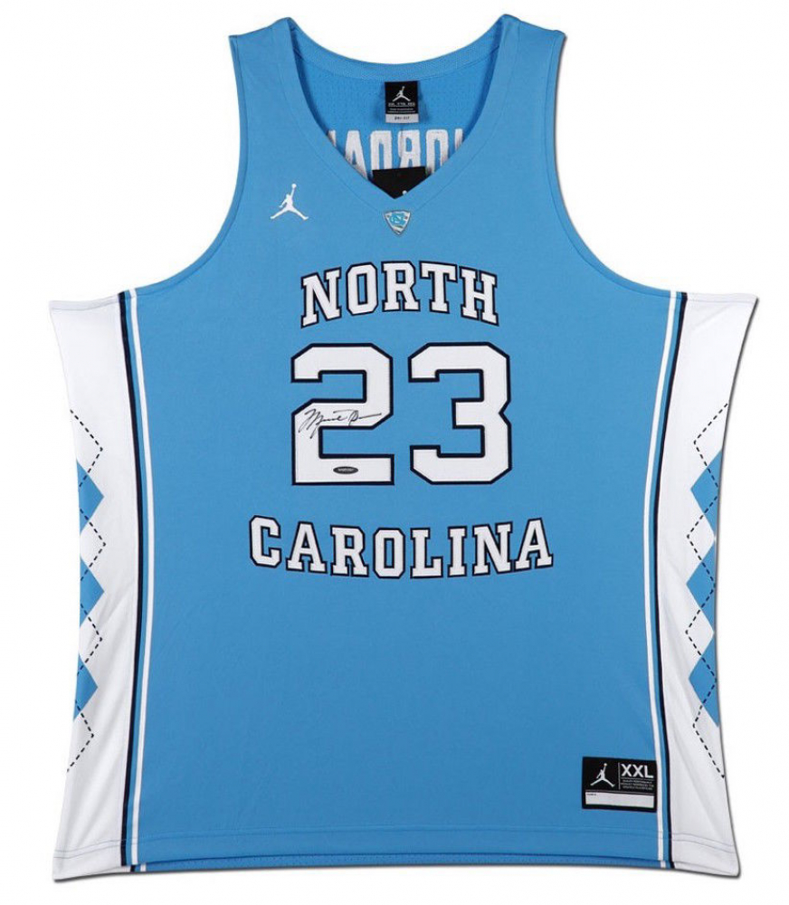 008085bc3 Michael Jordan Signed North Carolina Tar Heels Jersey (UDA COA)