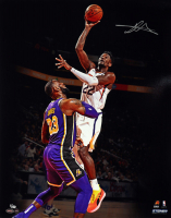 "Deandre Ayton Signed Suns ""Over LeBron"" 16x20 LE Photo (Game Day Legends COA & Steiner COA) at PristineAuction.com"