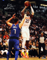 "Deandre Ayton Signed Suns ""Jump Shot"" 16x20 Limited Edition Photo Inscribed ""NBA Debut 10.17.18"" (Game Day Legends COA & Steiner COA) at PristineAuction.com"