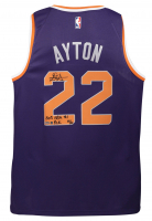 """Deandre Ayton Signed LE Phoenix Suns Nike Jersey Inscribed """"2018 NBA #1 Pick"""" (Game Day Legends COA & Steiner COA) at PristineAuction.com"""