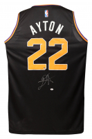 Deandre Ayton Signed Suns Jersey (Game Day Legends COA & Steiner COA) at PristineAuction.com