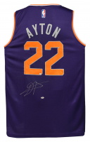 Deandre Ayton Signed Suns Fanatics Jersey (Game Day Legends COA & Steiner COA) at PristineAuction.com