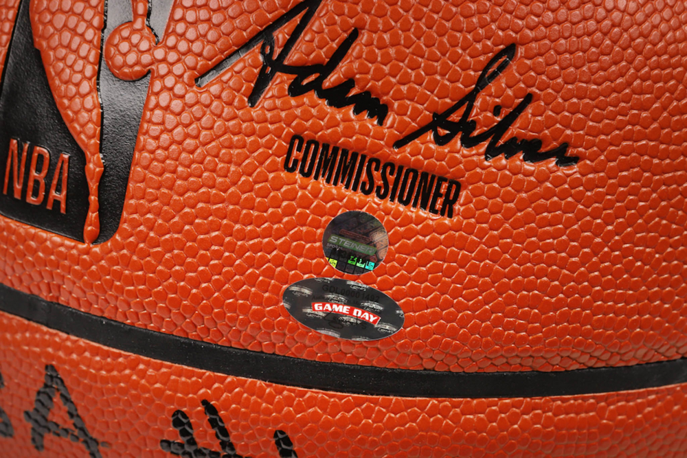 9f450cf0c456 Deandre Ayton Signed LE NBA Game Ball Series Basketball Inscribed