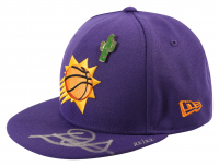 Deandre Ayton Signed Suns LE New Era 2018 Draft Day Fitted Hat (Game Day Legends COA & Steiner COA) at PristineAuction.com