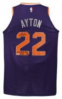 """Deandre Ayton Signed LE Suns Nike Authentic Jersey Inscribed """"2018 NBA #1 Pick"""" (Game Day Legends COA & Steiner COA) at PristineAuction.com"""