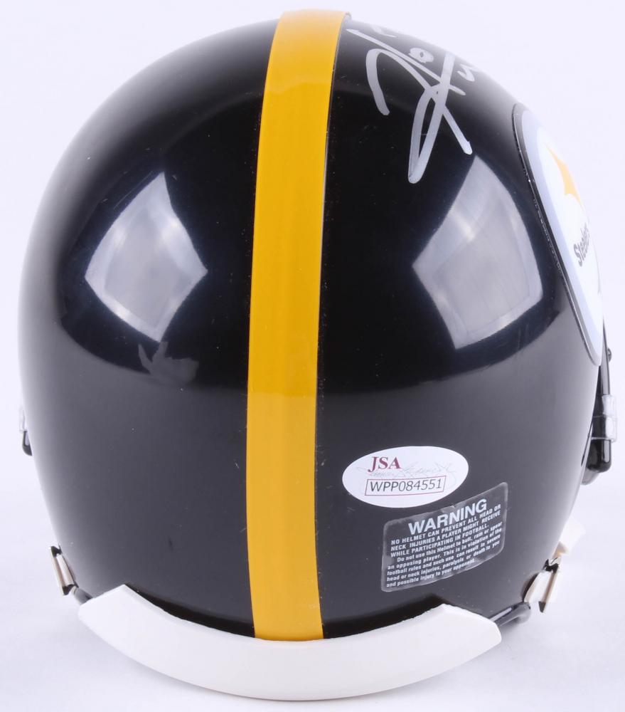 6ec16e87bc3 Hines Ward Signed Pittsburgh Steelers Mini Helmet Inscribed  SB XL MVP