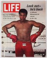 Muhammad Ali Signed 1970 Life Magazine (JSA ALOA) at PristineAuction.com