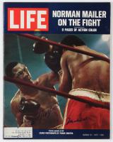 Muhammad Ali & Joe Frazier Signed 1971 Life Magazine (JSA ALOA)