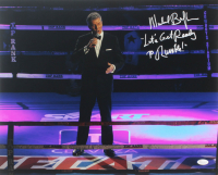 "Michael Buffer Signed 16x20 Photo Inscribed ""Let's Get Ready To Rumble!"" (JSA COA) at PristineAuction.com"