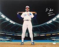 "Tim Raines Signed Expos 16x20 Photo Inscribed ""HOF 17"" & ""808 SB'S"" (JSA COA) at PristineAuction.com"